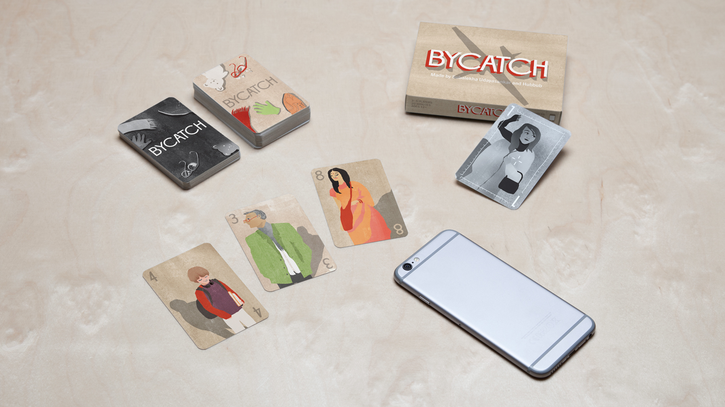 A preview of Bycatch's artwork and design